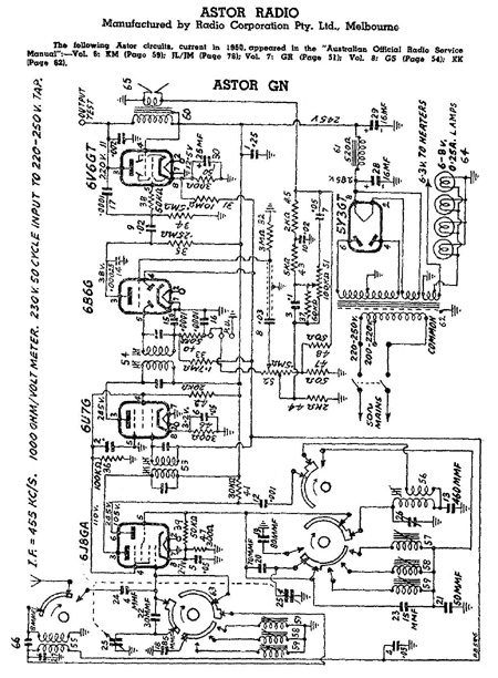 Astor GN circuit diagram