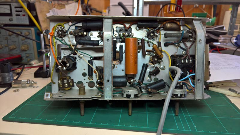 Hotpoint M65ME Valve Radio Chassis